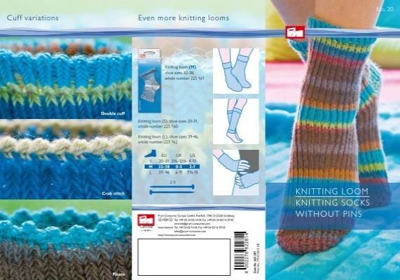 Knitting Loom Knitting Socks Without Pins Prym