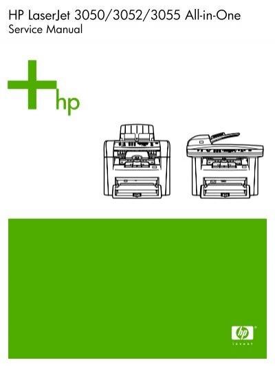 hp laserjet 3050 3052 3055 all in one service manual enww rh yumpu com hp deskjet 3050 repair manual hp deskjet 3050 service manual pdf