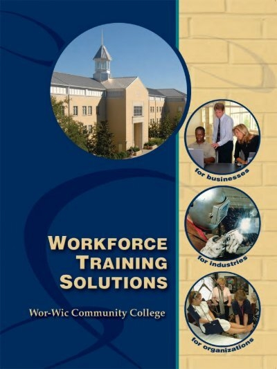 Business Training Solutions Wor Wic Community College