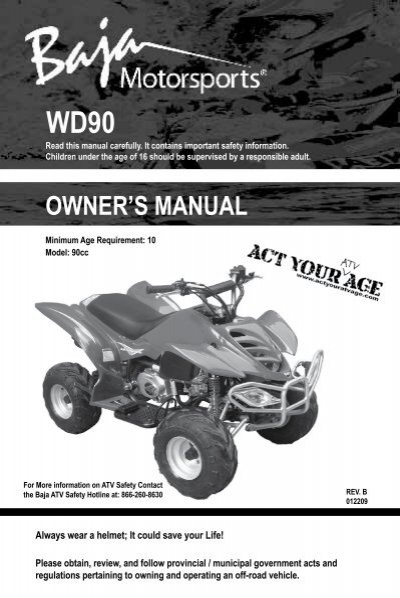 Baja Motorsports 90cc Atv Engine Diagram | Wiring Diagram on