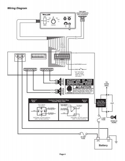 Diagram Whelen Control Box Wiring Diagram