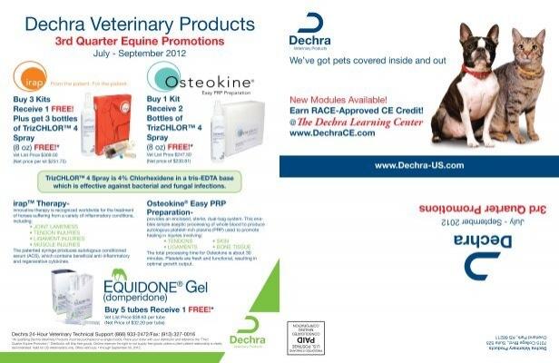 Dechra Veterinary Products - Dechra-US com