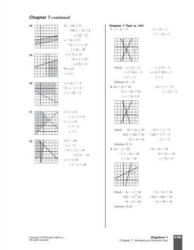 glencoe algebra 2 chapter 12 test form 2a answer key glencoe algebra 1 chapter 7 test form 2c. Black Bedroom Furniture Sets. Home Design Ideas