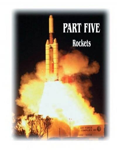 fundamentals of rocket propulsion pdf
