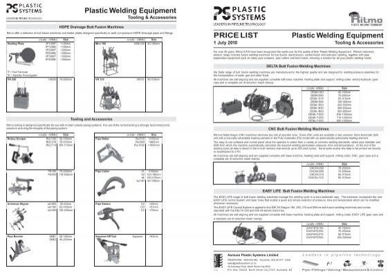 Plastic Welding Equipment Tooling
