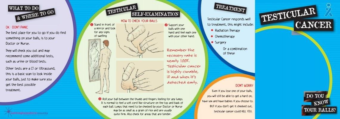 Testicular Cancer Leaflet