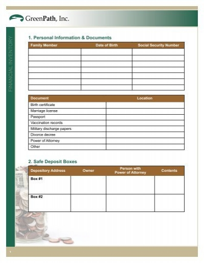 Printables Financial Inventory Worksheet financial inventory worksheet templates and worksheets vintagegrn