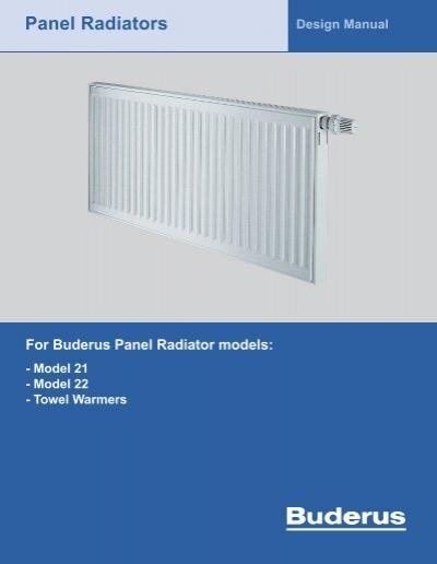 panel radiators buderus rh yumpu com Car Radiator Car Radiator