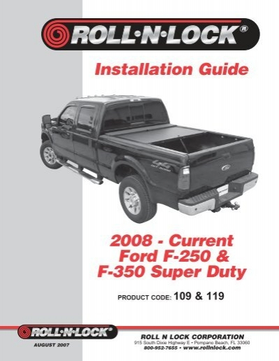 Installation Guide 2008 Current Ford F 250 F 350 Super Duty