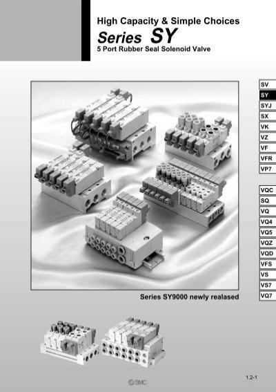 SMC 5SY Pneumatic Valves - UnisonYumpu