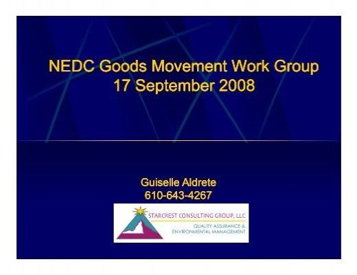 nedc good movement work group northeast diesel collaborative. Black Bedroom Furniture Sets. Home Design Ideas