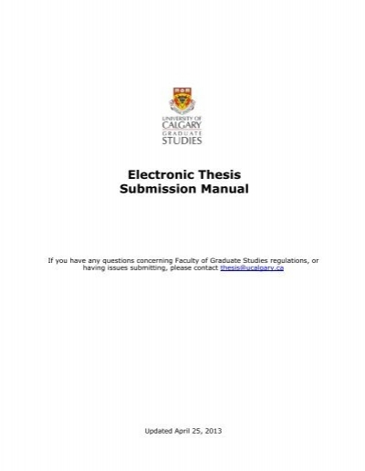umanitoba thesis submission