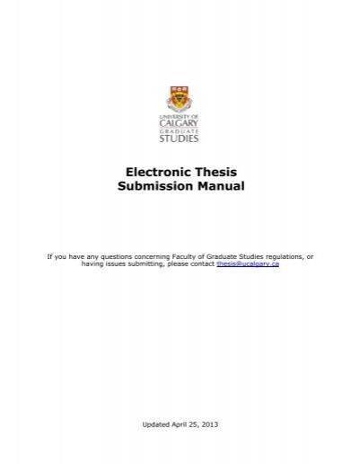 umanitoba thesis submission