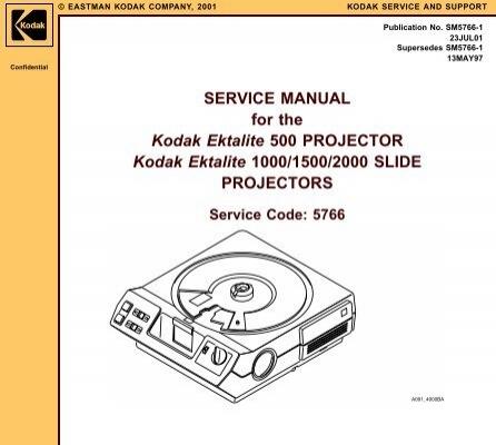 Kodak service manual fill online array service manual for the kodak ektalite slide micro tools net rh fandeluxe Images