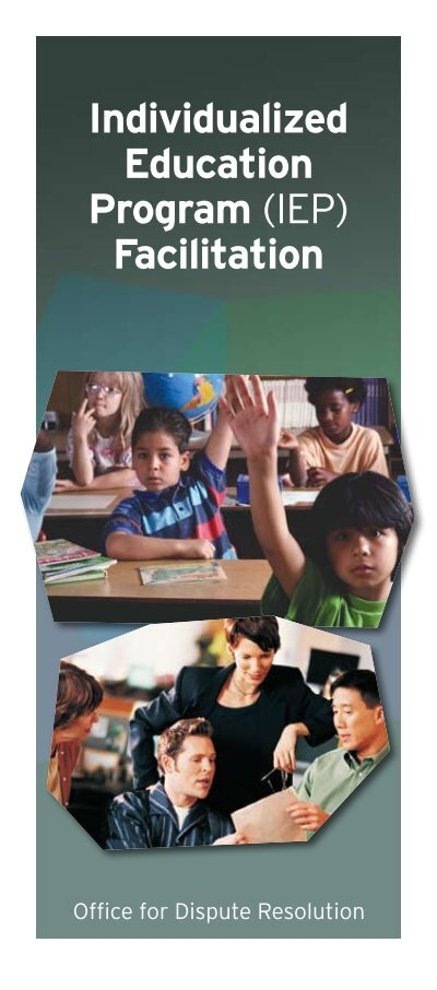 an introduction to the individualized education program The individualized education program as a living document musical introduction inclusive education, individualized education program.