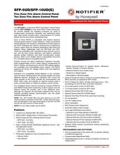 Remote Site UploadDownlo - Notifier sfp 2404 wiring diagram