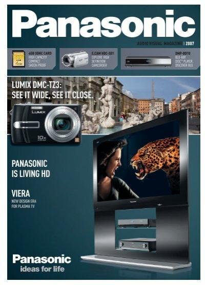panasonic is living hd viera lumix dmc tz3 see it wide see it close rh yumpu com Waterproof Case Panasonic Lumix DMC TZ3 Panasonic DMC TZ3 Accessories
