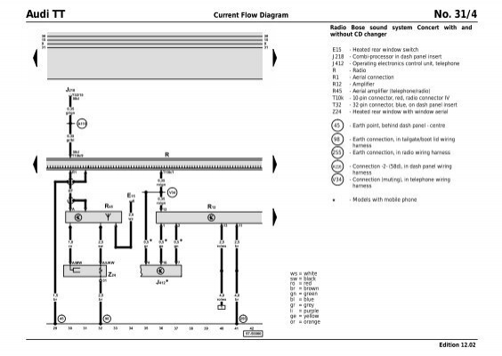 Audi Tt Wiring Diagram Pdf : Audi