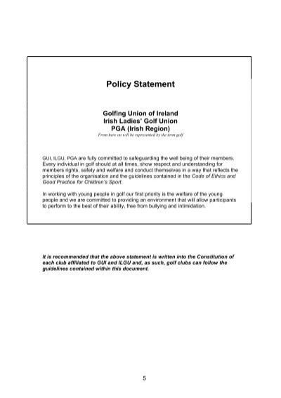 code of ethics policy statement Policy statement why introduce a code of ethics ethical practice is managed as part of the existing system of governance within the sage group.