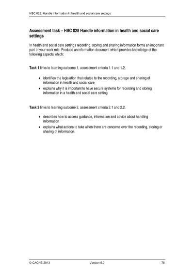 legislation relating to handling information