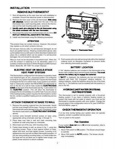 11 Unique White Rodgers Thermostat Wiring Diagram 1f82