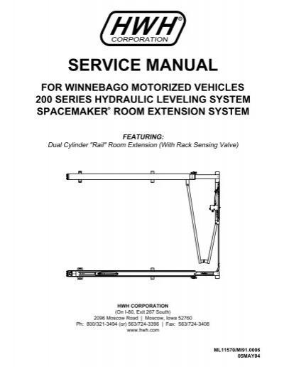 Hwh Hydraulic Leveling Jacks Manual  Cheap Hydraulic Jacks