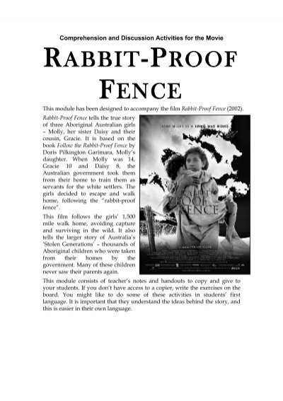 Rabbit Proof Fence N