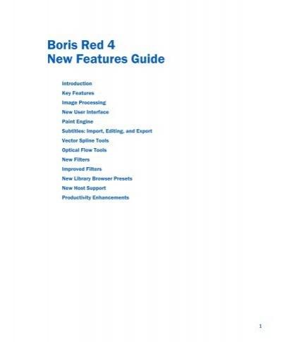 boris red 4 new features guide boris fx rh yumpu com Boris Blue After Effects FX