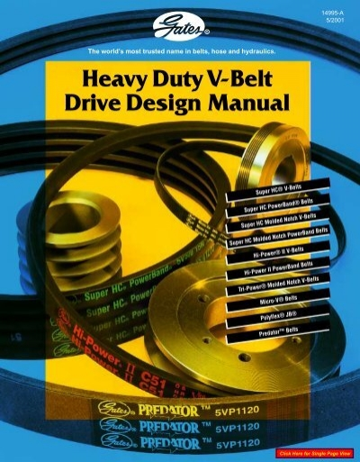 Gates C130 Hi-Power Belt