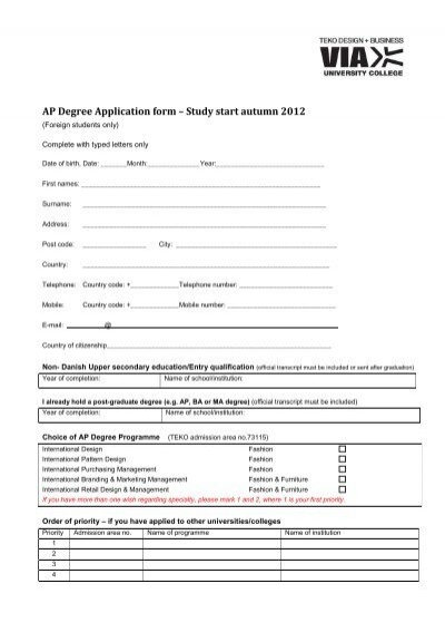 TEKO AP degree application form - Scandinavian study Application Form Degree on application cartoon, application to join a club, application in spanish, application for employment, application service provider, application template, application meaning in science, application insights, application trial, application for rental, application to join motorcycle club, application to rent california, application error, application submitted, application for scholarship sample, application database diagram, application to be my boyfriend, application approved, application to date my son, application clip art,