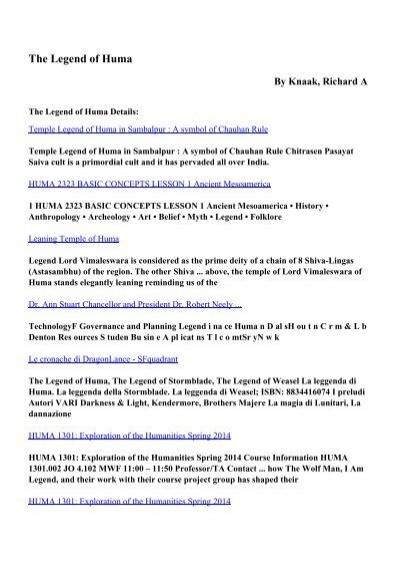Download the legend of huma pdf ebooks by knaak richard a fandeluxe Choice Image