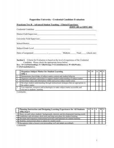 Candidate Evaluation Form Confidential – Candidate Evaluation Form