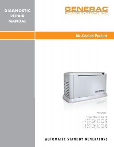 quietpact 40g diagnostic repair manual model 4700 generac parts rh yumpu com Generac Generator Parts Generac Generator Parts