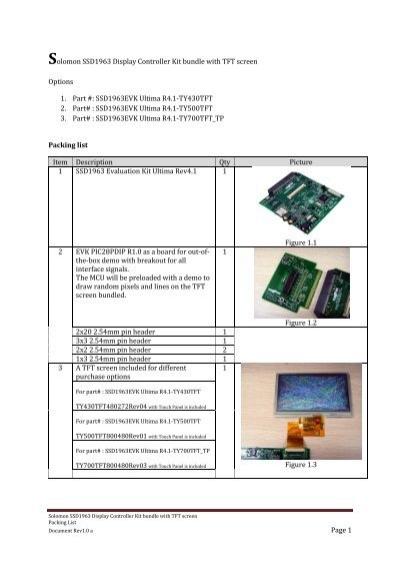 Packing List - TechToys com hk