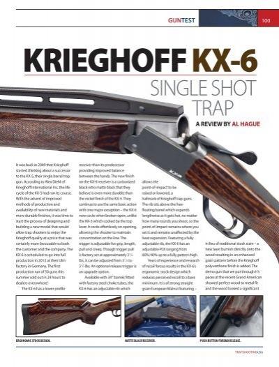 Download – PDF – English - Krieghoff
