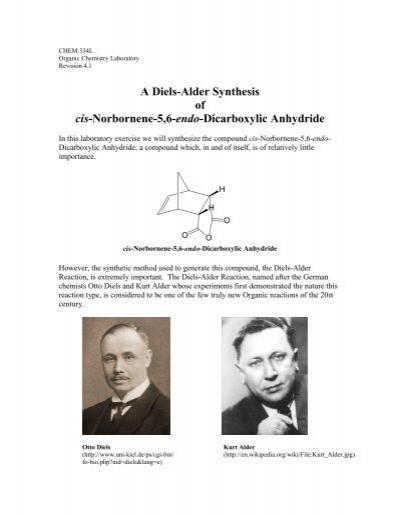 cis norbornene 5 6 endo dicarboxylic acid