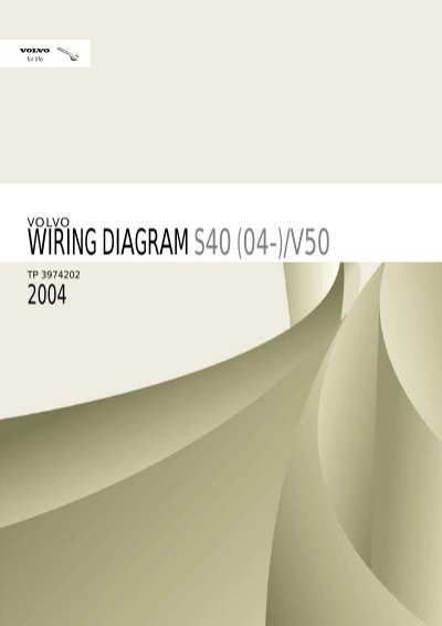 volvo 850 1996 wiring diagrams volvo s40 v50 2004 electronic wiring diagrams