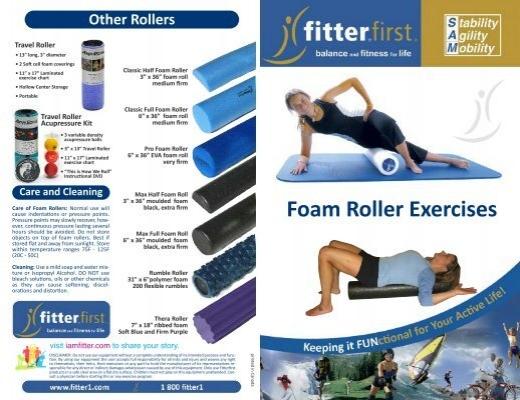 foam roller exercises pdf kayla