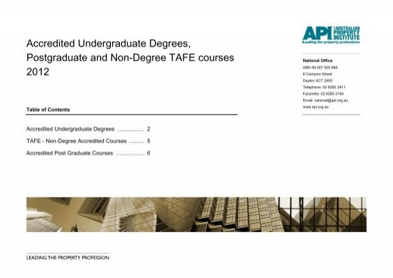 Property investment courses tafe courses reinvestment fund mofro