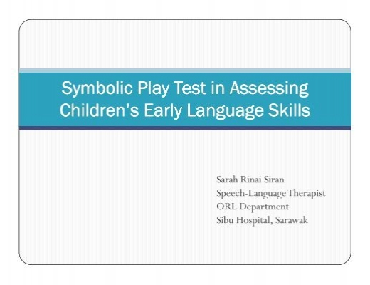 The Importance Of Symbolic Play As A Component Of The Early