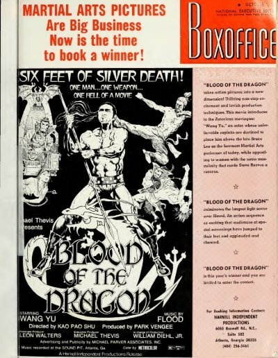 Boxoffice October 01 1973