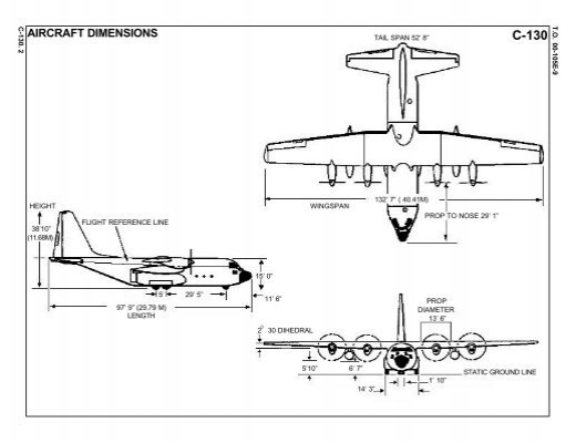 C 130 Cargo Dimensions