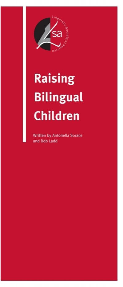 raising bilingual child Why raise a bilingual child in this article i lay out the four reasons why every parent should make raising a bilingual child a priority.