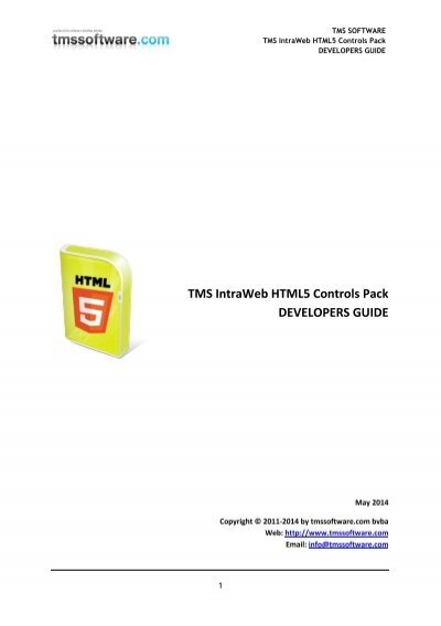 iw html5 controls pack tms software rh yumpu com
