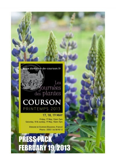 Press Pack February 19 2013 Domaine De Courson
