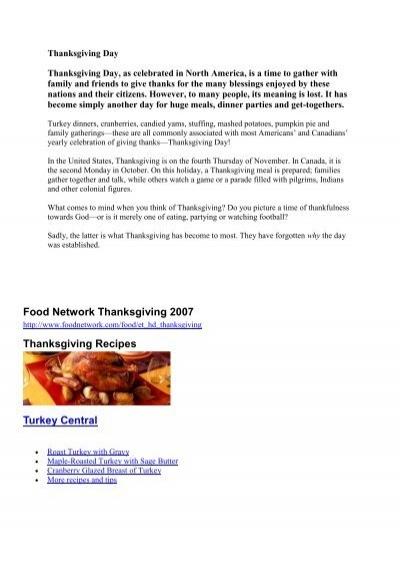 Food network thanksgiving 2007 thanksgiving recipes turkey food network thanksgiving 2007 thanksgiving recipes turkey forumfinder Gallery