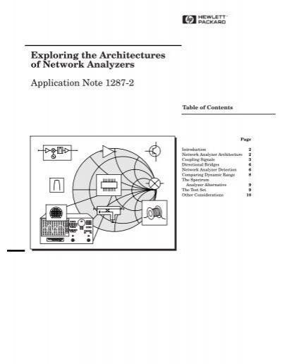 Hewlett Packard Application Note 65 Swept Frequency Techniques