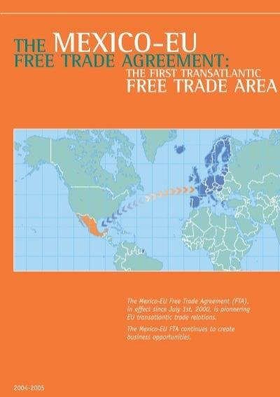 The Mexico Eu Free Trade Agreement