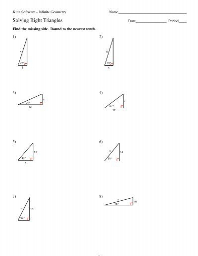 9 solving right triangles. Black Bedroom Furniture Sets. Home Design Ideas