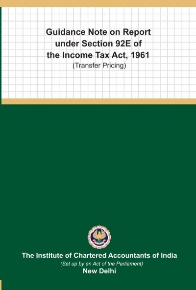ICAI s Guidance Notes on Accounting Aspects